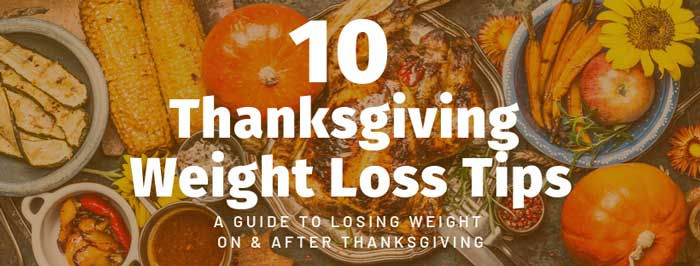 thanksgiving weight loss tips