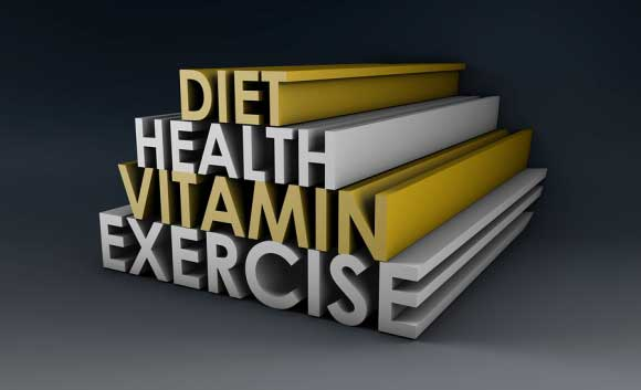 Diet, health, vitamin, exercise