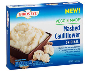 Birdseye mashed cauliflower potatoes