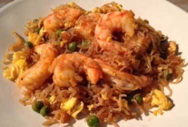 healthy shrimp fried rice recipe